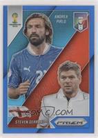 Andrea Pirlo, Steven Gerrard #/199