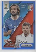 Andrea Pirlo, Steven Gerrard /199