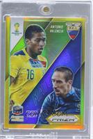 Antonio Valencia, Franck Ribery /10