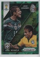 Javier Hernandez, Neymar Jr. /25