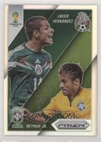 Neymar Jr., Javier Hernandez