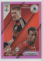 Nani, Bastian Schweinsteiger /99