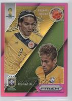 Neymar Jr., Radamel Falcao /99