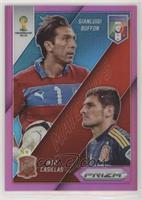 Gianluigi Buffon, Iker Casillas /99