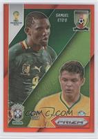 Samuel Eto'o, Thiago Silva /149