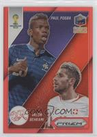 Valon Behrami, Paul Pogba #/149