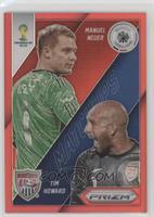 Manuel Neuer, Tim Howard #/149