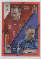 Andres Iniesta, Franck Ribery /149