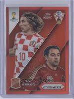 Xavi Hernandez, Luka Modric /149