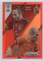 Andres Iniesta, Arjen Robben #/149