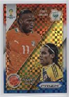 Didier Drogba, Radamel Falcao