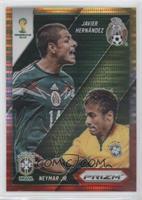 Javier Hernandez, Neymar Jr.