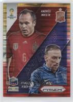 Andres Iniesta, Franck Ribery