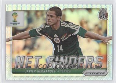 2014 Panini Prizm World Cup - Net Finders - Prizms #19 - Javier Hernandez