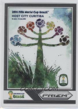 2014 Panini Prizm World Cup - Posters #4 - Curitiba