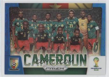 2014 Panini Prizm World Cup - Team Photos - Blue Prizms #7 - Cameroon /199