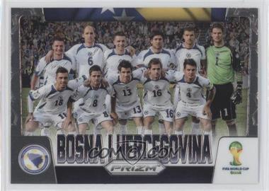 2014 Panini Prizm World Cup - Team Photos #5 - Bosnia-Herzegovina