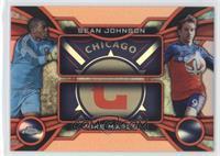 Sean Johnson, Mike Magee #/25