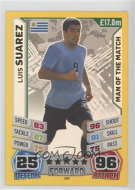 2014 Topps Match Attax World Cup 2014 - [Base] #266 - Luis Suarez