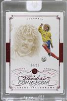 Legends - Carlos Valderrama /15 [ENCASED]