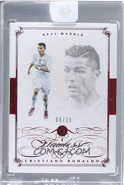 2015-16 Panini Flawless - [Base] - Ruby #28 - Cristiano Ronaldo /15 [Uncirculated]