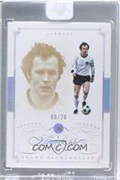 Legends - Franz Beckenbauer /20 [ENCASED]