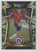 Alexis Sanchez (Ball Back Photo Variation) #/249
