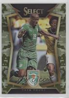 Yaya Toure (Ball Back Photo Variation) #/249