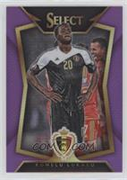 Romelu Lukaku (Ball Back Photo Variation) #/99