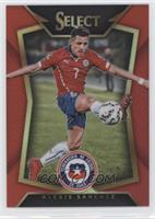Alexis Sanchez (Ball Back Photo Variation) #/199