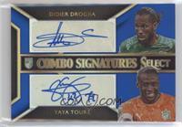 Didier Drogba, Yaya Toure #/10