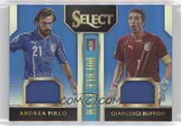 Andrea Pirlo, Gianluigi Buffon #/99