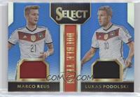Lukas Podolski, Marco Reus /99
