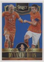 Arjen Robben, Robin van Persie #/299