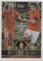 Arjen Robben, Robin van Persie #/249