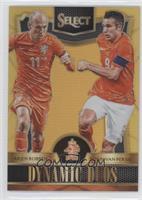 Arjen Robben, Robin van Persie #/10