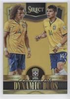 David Luiz, Thiago Silva /10