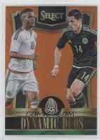 Giovani Dos Santos, Javier Hernandez #/149