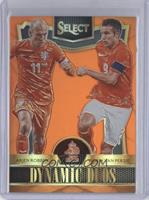 Arjen Robben, Robin van Persie #/149
