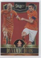 Arjen Robben, Robin van Persie #/199