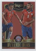 Arturo Vidal, Alexis Sanchez #/199