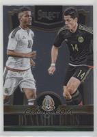 Giovani Dos Santos, Javier Hernandez