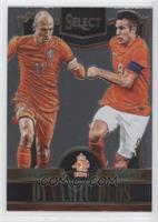 Arjen Robben, Robin van Persie