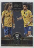 David Luiz, Thiago Silva