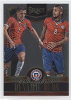 Alexis Sanchez, Arturo Vidal