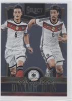Mesut Ozil, Sami Khedira