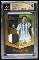 Lionel Messi [BGS 9.5 GEM MINT] #/10