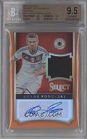 Lukas Podolski /25 [BGS9.5GEMMINT]