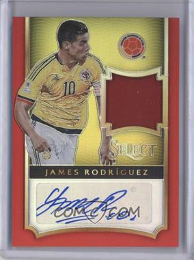 2015-16 Panini Select - Jersey Autographs - Red Prizm #JA-JR - James Rodriguez /15
