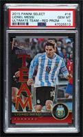Lionel Messi [PSA10GEMMT] #/199